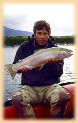 Fly casting - Patagonia