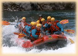 rafting riviere Manso